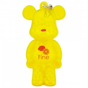 Medicom Kumaroma Aroma Bearbrick Figure - Fine Scent Of Lemon (yellow)
