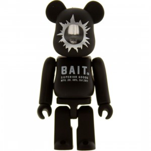 BAIT x Medicom 100% Bearbrick Figure (black) - BAIT SDCC Exclusive