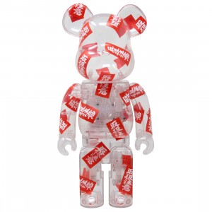 Medicom BlackEyePatch 400% Bearbrick Figure (red)
