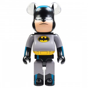 Medicom Batman Animated 1000% Bearbrick Figure (gray)