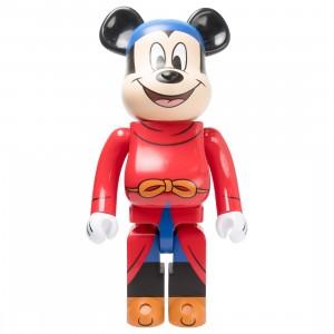 Medicom Disney Fantasia Mickey Mouse 1000% Bearbrick Figure (red)