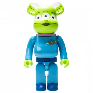 Medicom Disney Toy Story Alien 1000% Bearbrick Figure (blue)