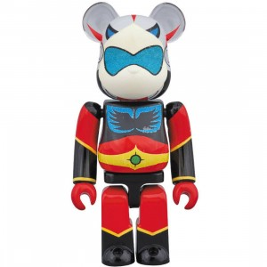 Medicom UFO Robot Grendizer Pilot Duke Fleed 100% Bearbrick Figure (multi)