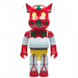 Medicom Getter Robot Getter 1 1000% Bearbrick Figure (white / red)