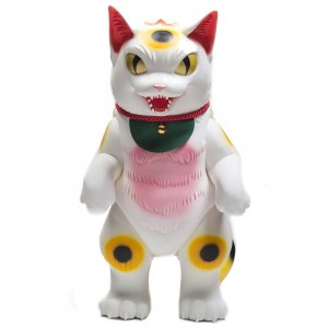 Medicom JAM Jumbo Artist Monsters Konatsu Negora Figure (white)