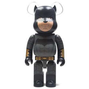 Medicom Justice League Batman 1000% Bearbrick Figure (black)