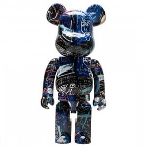 Medicom Jean-Michel Basquiat #7 1000% Bearbrick Figure (multi)