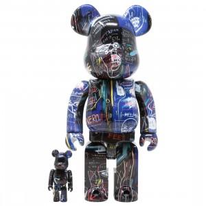 Medicom Jean-Michel Basquiat #7 100% 400% Bearbrick Figure Set (multi)