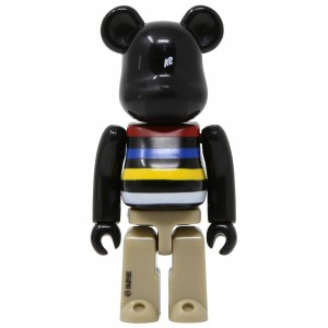 Medicom K2 Sports 100% Bearbrick Figure (black)