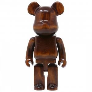 Medicom Karimoku Modern Furniture 400% Bearbrick Figure (brown)