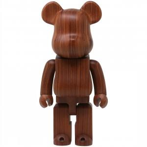 Medicom Karimoku Pao Rosa 400% Bearbrick Figure (brown)