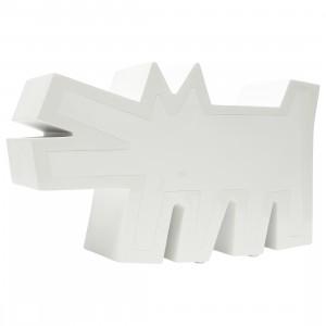 Medicom Keith Haring Barking Dog White Ver. Statue (white)