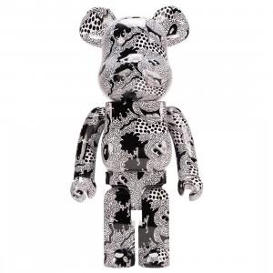 Medicom Keith Haring Disney Mickey Mouse 1000% Bearbrick Figure (black)