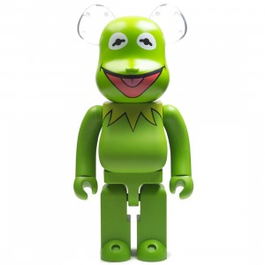 Medicom Meet the Muppets Kermit The Frog 1000% Bearbrick Figure (green)