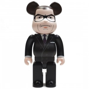Medicom Kingsman The Secret Service Harry Galahad Hart 400% Bearbrick Figure (black)