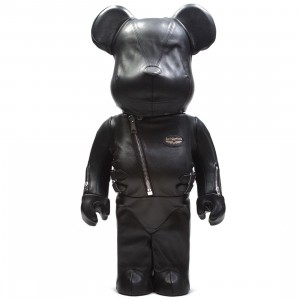 Medicom Lewis Leathers 1000% Bearbrick Figure (black)