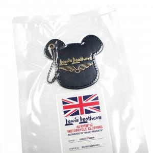 Medicom Lewis Leather Bearbrick Key Holder (black)
