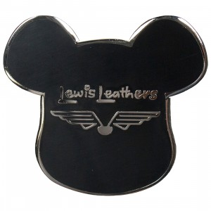 Medicom Lewis Leather Bearbrick Pin (black)