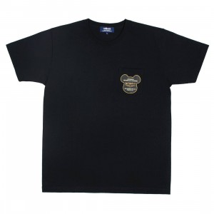 Medicom Men Lewis Leather Bearbrick Be@r Tee (black)