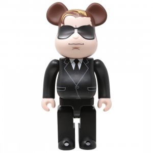 Medicom Men In Black International Agent H 400% Bearbrick Figure (black)