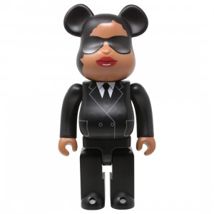 Medicom Men In Black International Agent M 400% Bearbrick Figure (black)
