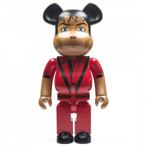 Medicom Michael Jackson Thriller Red Jacket 1000% Bearbrick Figure (red)