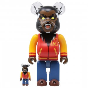 Medicom Michael Jackson Werewolf 100% 400% Bearbrick Figure Set (red)