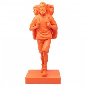Medicom x Mountain Mans By Mountain Research Henry David Thoreau Orange 1/6 Vinyl Figure (orange)