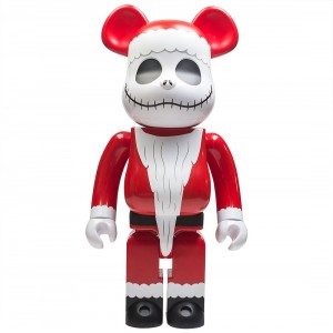 Medicom The Nightmare Before Christmas Santa Jack 1000% Bearbrick Figure (red)