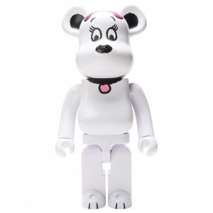 Medicom Peanuts Belle 1000% Bearbrick Figure (white)