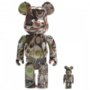 Medicom Phil Frost 100% 400% Bearbrick Figure Set (mutli)