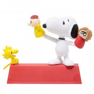Medicom UDF Peanuts Series 11 Puppet Snoopy And Woodstock Figure (red)