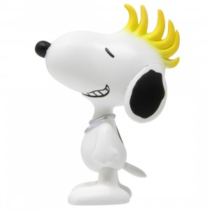 Medicom UDF Peanuts Series 9 Mohawk Snoopy Ultra Detail Figure (white)