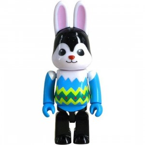 Medicom 2016 Easter 100% Rabbrick Figure - Blue Version (blue)