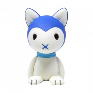 Medicom UDF Studio Chizu Series 2 Wolf Children Ame Plush Figure (blue)