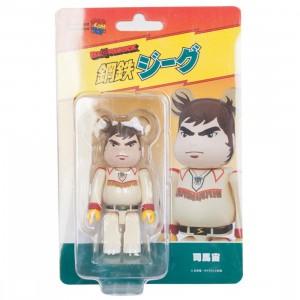 Medicom Shiba Hiroshi 100% Bearbrick Figure (white)