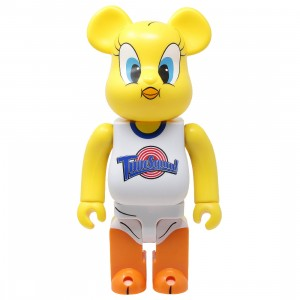 Medicom x Space Jam Tweety 400% Bearbrick Figure (yellow)