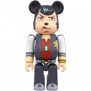 Medicom Space Dandy 100% Bearbrick Figure (navy / red)