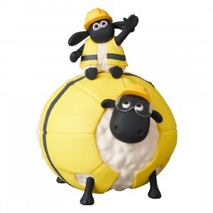 Medicom UDF A Shaun the Sheep Movie Farmageddon Timmy And Shirley Figure (yellow)