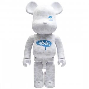 Medicom Stash 1000% Bearbrick Figure (white)
