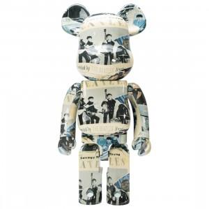Medicom The Beatles Anthology 1000% Bearbrick Figure (beige)