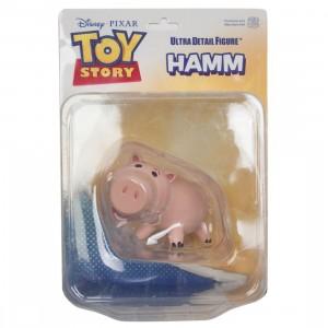 Medicom UDF Pixar Toy Story Series 6 Hamm Ultra Detail Figure (pink)
