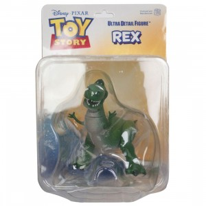 Medicom UDF Pixar Toy Story Series 6 Rex Ultra Detail Figure (green)