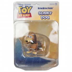 Medicom UDF Toy Story Pixar Series 6 Slinky Dog Ultra Detail Figure (brown)