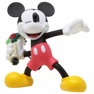 Medicom VCD Disney Throw Mickey Normal Ver. Figure (red)