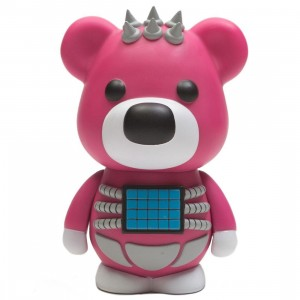 Medicom X Japan Hide VCD Psycho Bear Figure (pink)