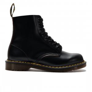 Dr. Martens Men 1460 Vintage Made In England Lace Up Boots (black / black quilon)