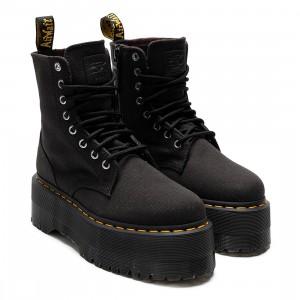 Dr. Martens x X-Girl Women Jadon Max Platform Boots (black / black canvas)