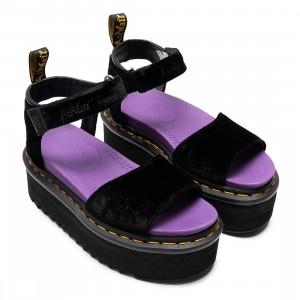 Dr. Martens x X-Girl Women Strap Sandal (black / black velvet)