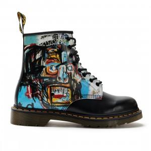 Dr. Martens Men 1460 Basquiat II Boots (black / multi untitiled basquiat backhand / smooth)